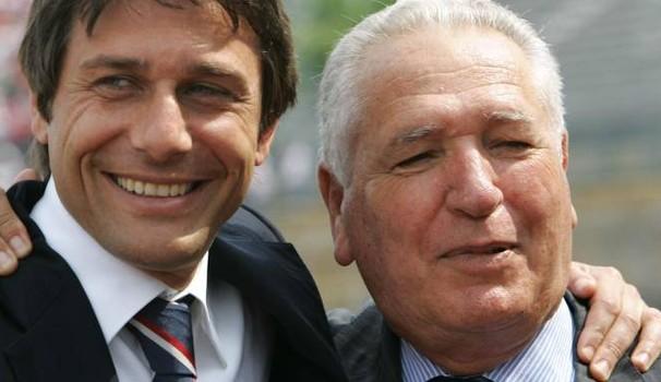 """Il saluto commosso al presidente Vincenzo Matarrese, Perinetti in lacrime """"Se il Bari ha avuto due commissari tecnici, il merito è suo. Il suo sogno era portare i biancorossi in Europa"""""""