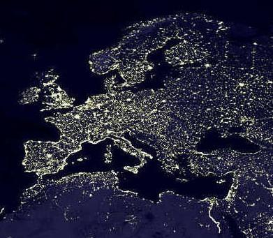 L'inquinamento luminoso cancella le stelle è quasi impossibile vedere la via Lattea