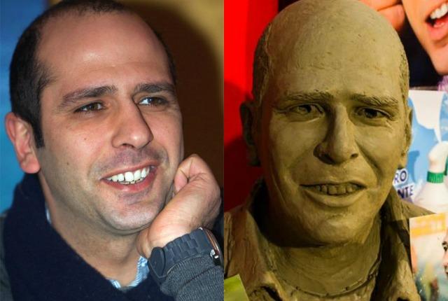 """Luca Medici alias Checco Zalone avrà il suo busto """"gli atri erano troppo brutti"""""""
