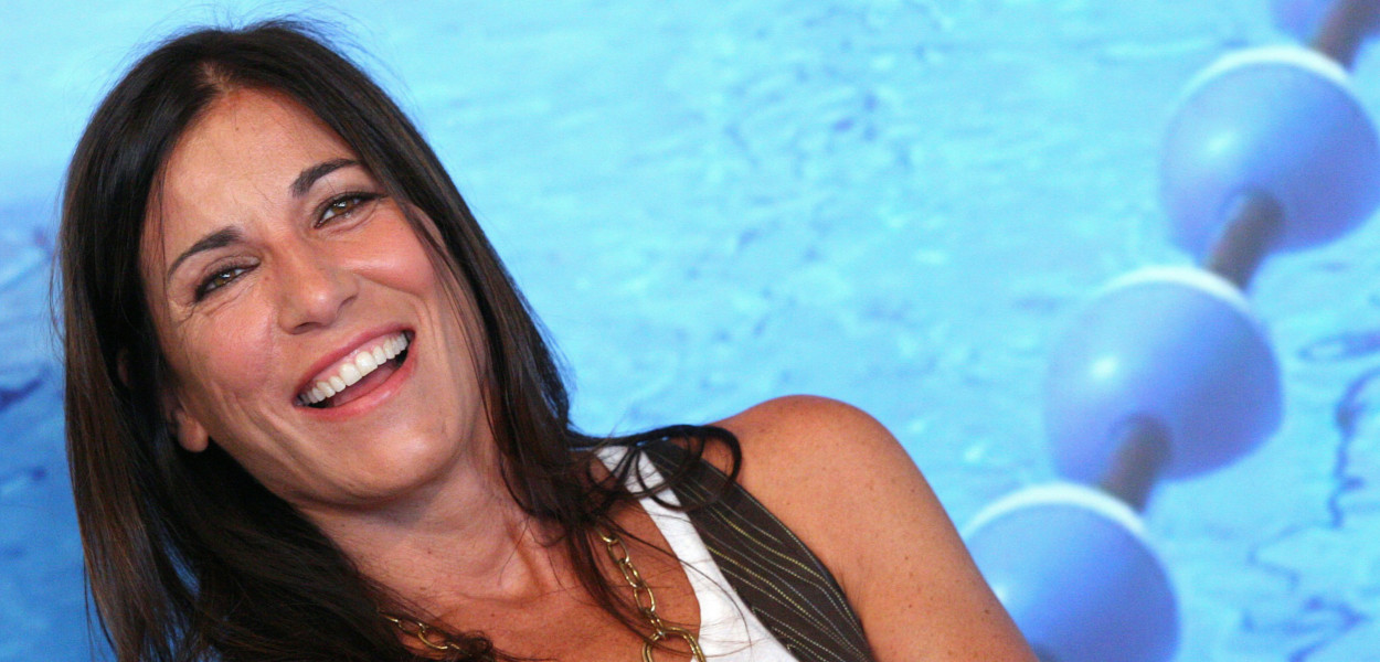 Paola Turci pronta ad abbracciare i suoi fan pugliesi al Gran Shopping Festival di Molfetta