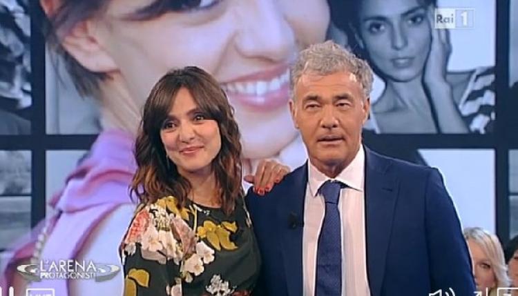 Ambra Angiolini e dopo la  separazione da Renga: rivela forse c'è un nuovo amore, sarà Giletti