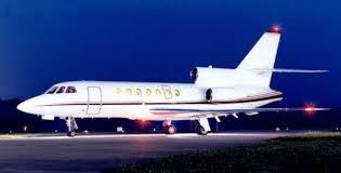 Volo d'emergenza con un Falcon 50 per sottoporsi al trapianto di fegato a Roma