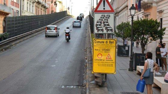 Bari nuovi ingorghi e tanto disagio in arrivo, ponte di Corso Cavour chiuso al traffico da domani 25 luglio