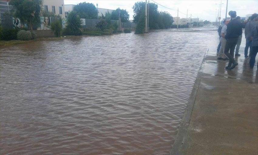 Nubifragio Molfetta situazione di massima allerta,evacuata zona industriale vietato raggiungere area