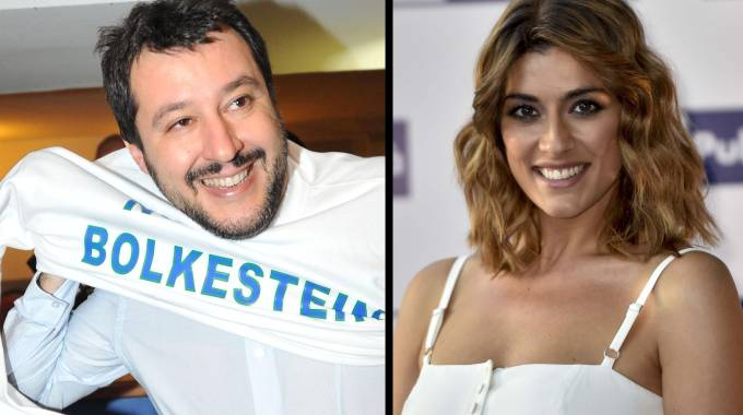 Elisa Isoardi e Matteo Salvini vacanza di fuoco ad Ischia i due però non vogliono parlare di matrimonio