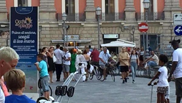 La rockstar Madonna fa tappa anche a Lecce. La cantante non si perde nulla delle bellezze pugliesi