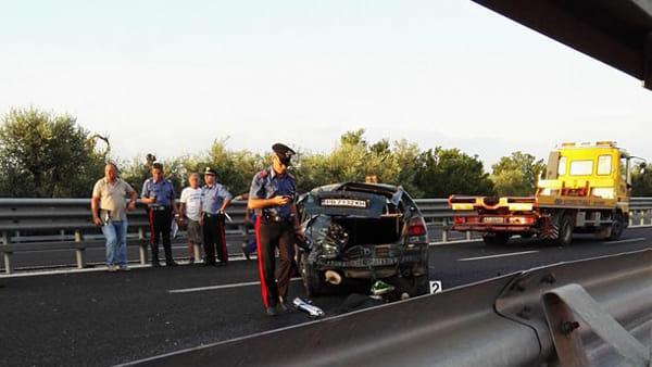 Terribile incidente sulla statale 16 sul tratto di strada tra Giovinazzo e Molfetta morto ragazzo di 23 anni