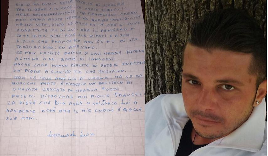 Foggia, si fa sempre più strada l'ipotesi di lupara bianca per la scomparsa di Francesco Armiento