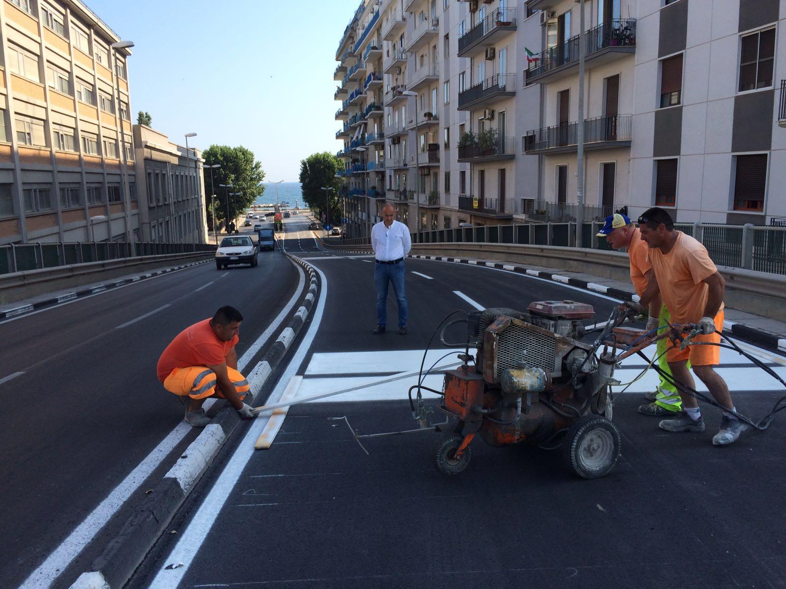 Bari, apre in anticipo il Ponte di Via Di Vagno. Presto chiuderà per lavori il ponte di Corso Cavour