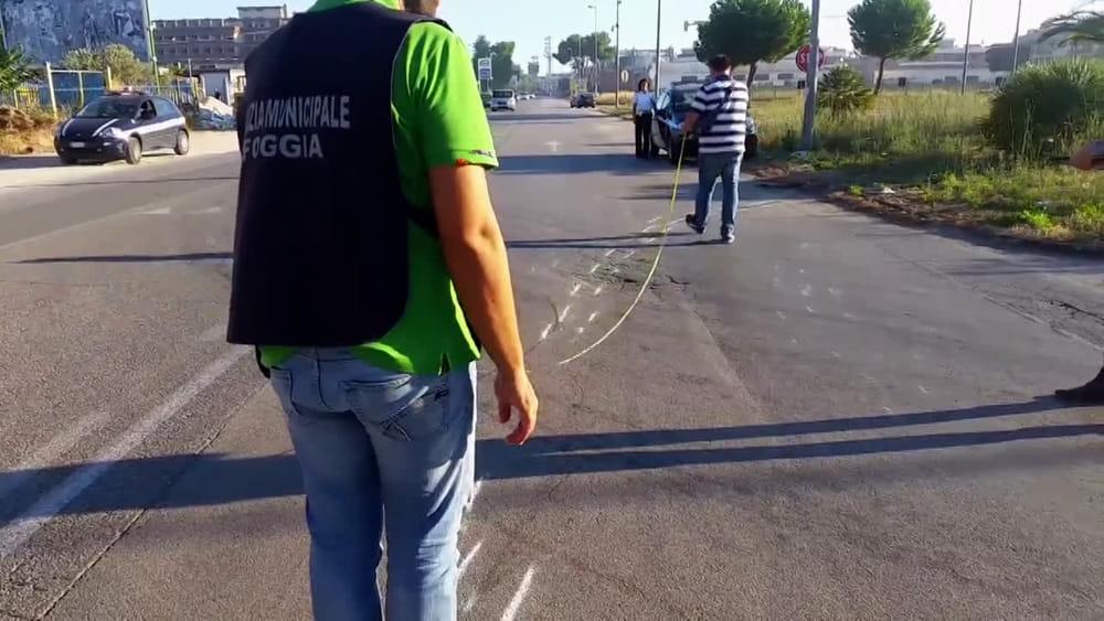 Incidente mortale su viale degli Aviatori a Foggia-2