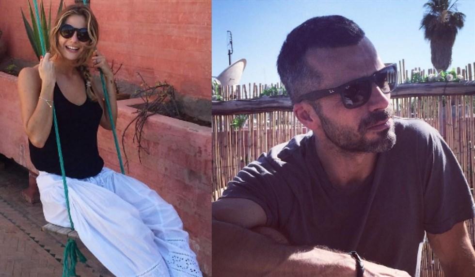 Luca Argentero e Cristina Marino vacanze di fuoco a Gallipoli