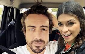 La ex fidanzata di Valentino Rossi, Linda Morselli ama Fernando Alonso