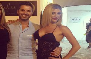 Paola Caruso e il fratello di Manuela Arcuri, vacanza bollente