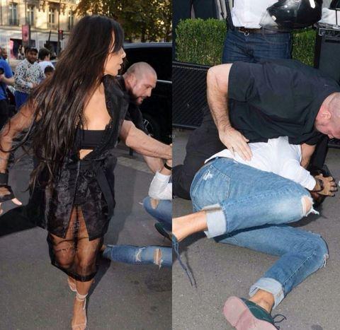 Aggredita Kim Kardashian: l'hanno (quasi) morsa proprio lì