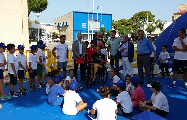 Con Coni e Regione in Fiera  il Villaggio dello Sport e un incontro su salute e disabilità