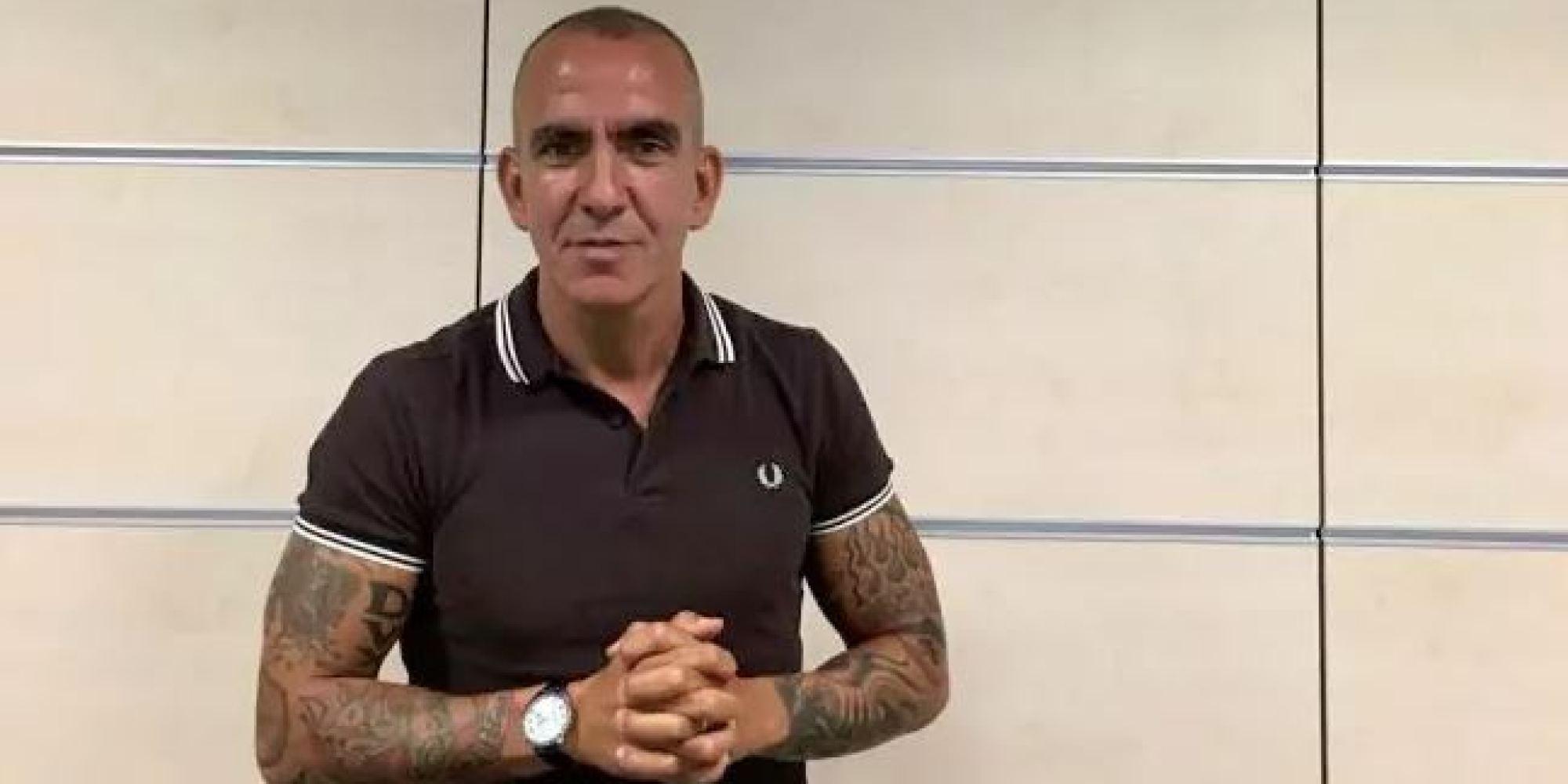 Paolo Di Canio mette in bella mostra un tatuaggio, linciaggio mediatico sui social e Sky lo sospende