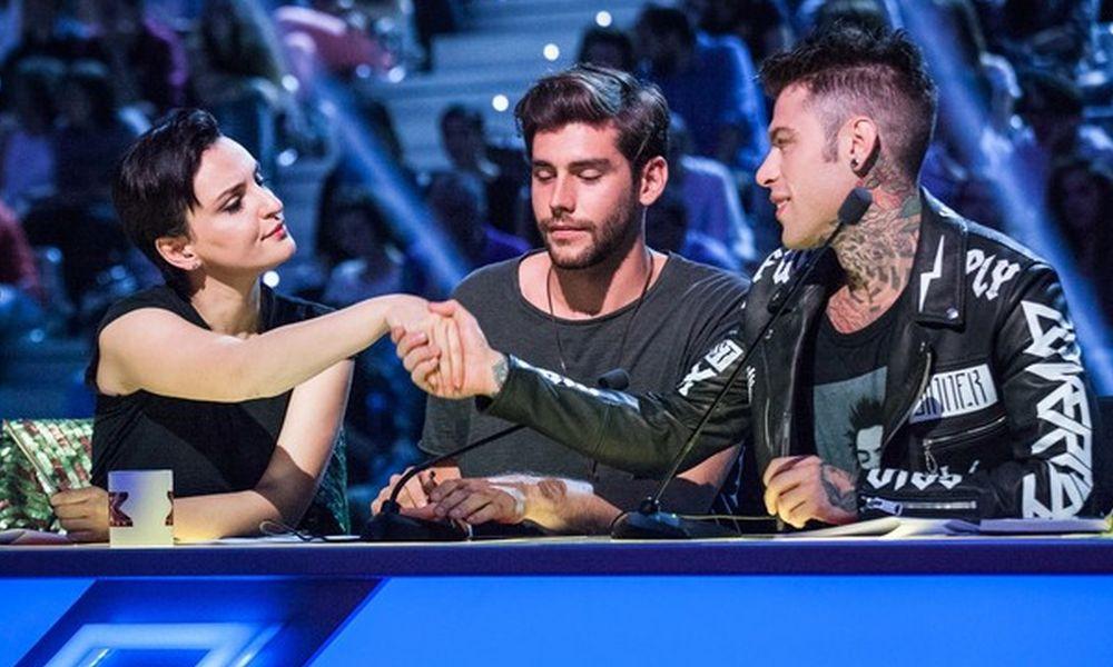 X Factor, tensione alle stelle tra Fedez e Arisa, Fedez, meglio che io non riveli i messaggi che mi manda Arisa