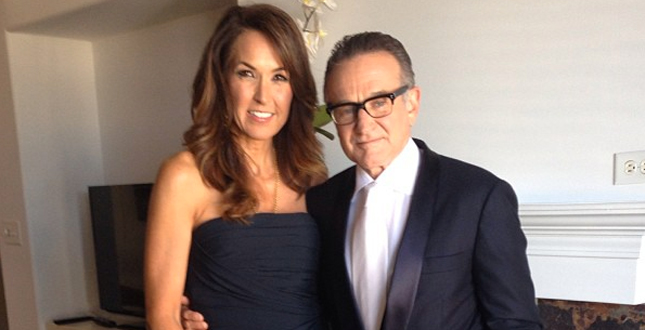Susan Schneider e lo struggente ricordo del marito Robin Williams, ecco le ultime parole che mi ha detto