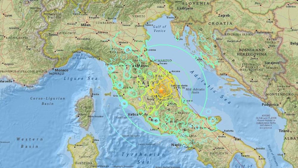 Terremoto ultime notizie, tremenda scossa stamane in Umbria la più forte in assoluto, avvertita in tutto il barese