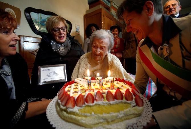 La donna più anziana al mondo è italiana ha 117 anni, il suo segreto è divorziata
