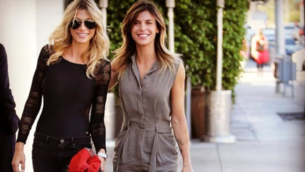 Elisabetta Canalis e Maddalena Corvaglia: ancora insieme…lontane dalla tv