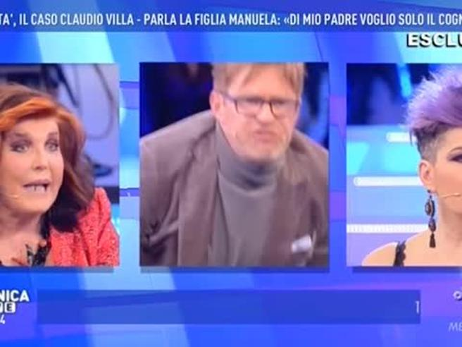 Domenica Live, rissa sfiorata tra Filippo Facci, Manuela Villa e Patrizia De Blanck, ecco cosa è successo
