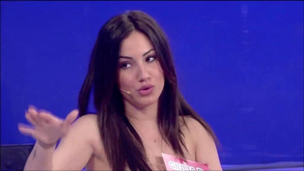 Andrea Damante e Giulia De Lellis, furioso litigio a Pomeriggio 5