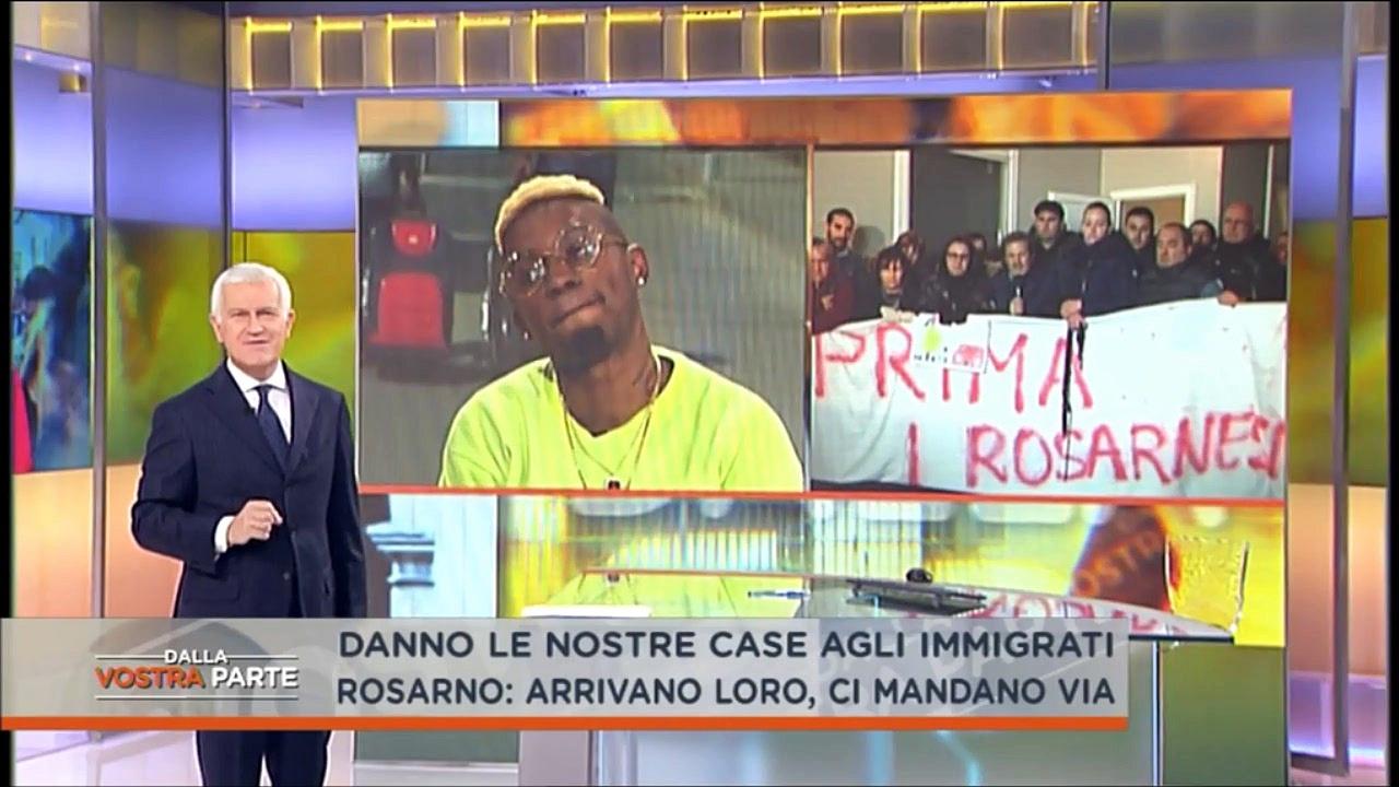 """Alessandra Mussolini contro il rapper Bello Figo """"Sei da prendere a calci, tu provochi i cittadini italiani"""""""
