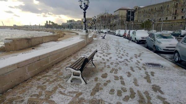 Tormenta di neve a Bari, udienze civili e penali rinviate? Domani atteso il provvedimento