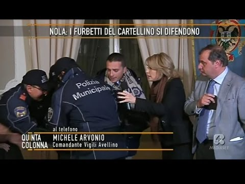 YOUTUBE Quinta Colonna, comandante vigili Luigi Maiello sviene dopo telefonata