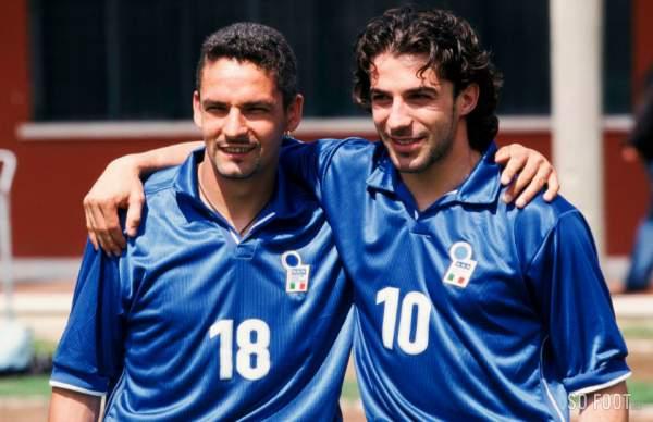 Il commovente messaggio di auguri di Alessandro Del Piero per il cinquantesimo compleanno di Roby Baggio
