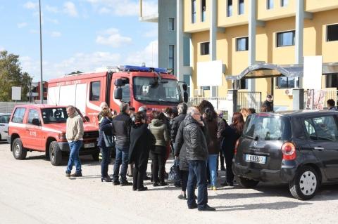 Attimi di panico in Puglia, al distretto socio sanitario fumo e panico evacuato il locale
