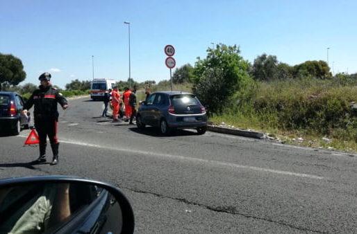 Bari, tangenziale bloccata per tamponamento auto-moto