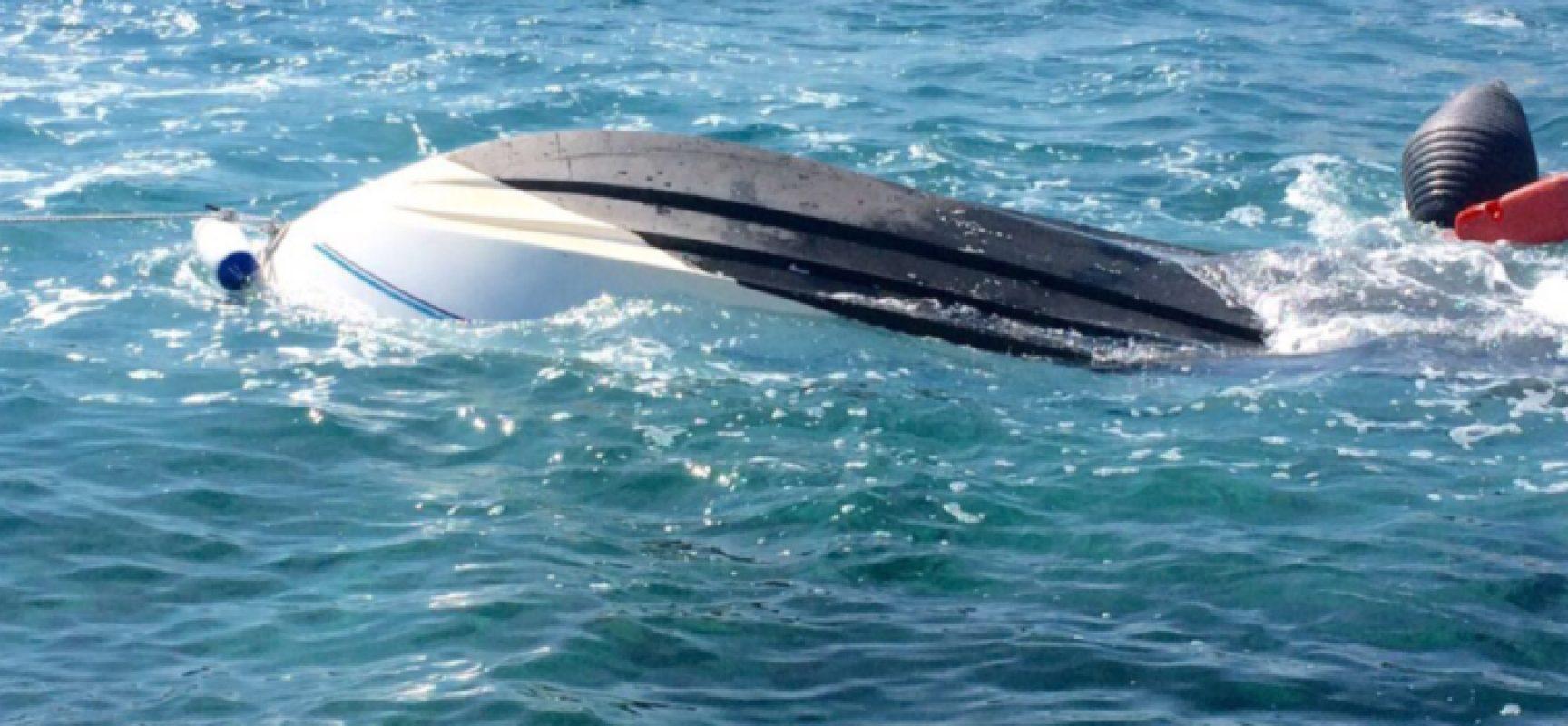 Isole Tremiti attimi di terrore, affonda barca salvate 6 persone tra cui un bambino