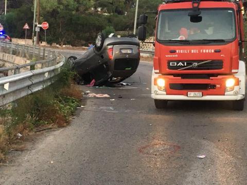 Puglia, terribile incidente sulla litoranea salgono a due le giovani vittime, ancora gravi gli altri feriti