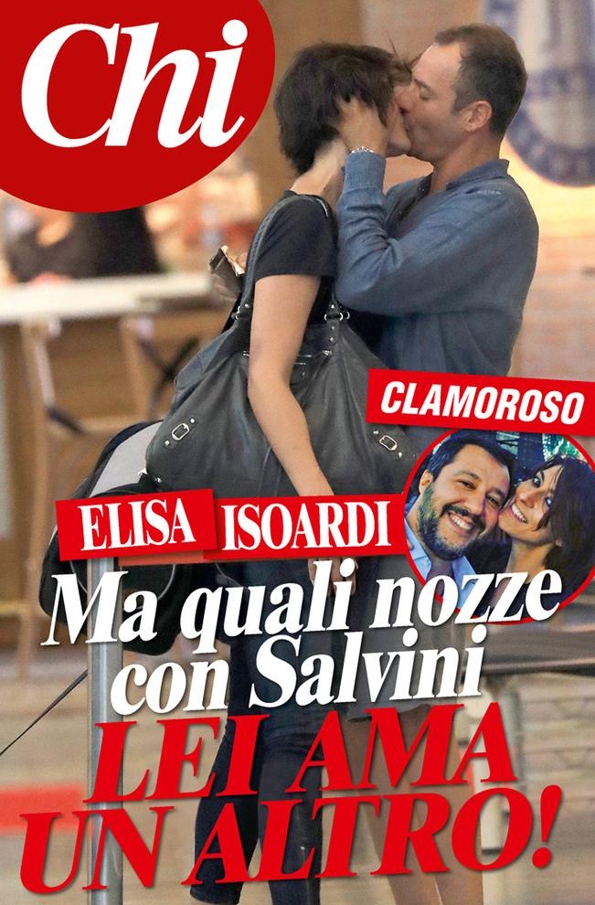Addio nozze, Matteo Salvini tradito dalla Elisa Isoardi beccata mentre bacia un altro ad Ibiza