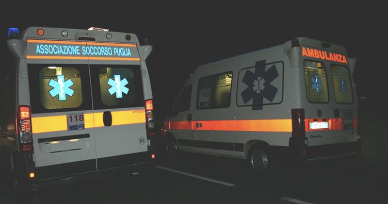 Puglia, atroce incidente stradale, giovane barista carbonizzata