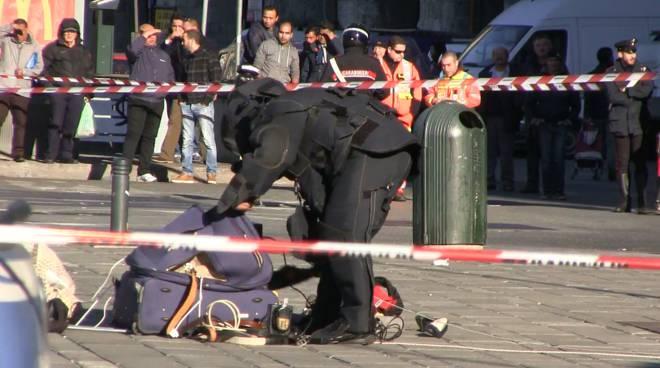 Puglia, attimi di terrore, zona evacuata e protocollo antiterrorismo in pieno centro per una valigia sospetta