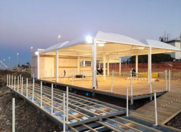 Bari il nuovo lido a San Giorgio è aperto l' ingresso è gratuito, si paga utilizzo sdraio e docce