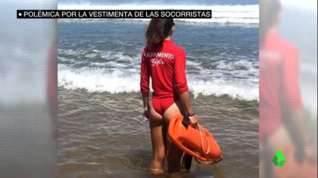 Bagnine con micro costumi, sono aumentati i bagnanti che annegano, alcuni anche due o tre volte al giorno, gli apprezzamenti sui social