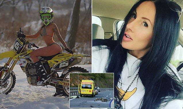 Morta per brutale incidente la formosa motociclista che con le sue curve aveva conquistato il mondo