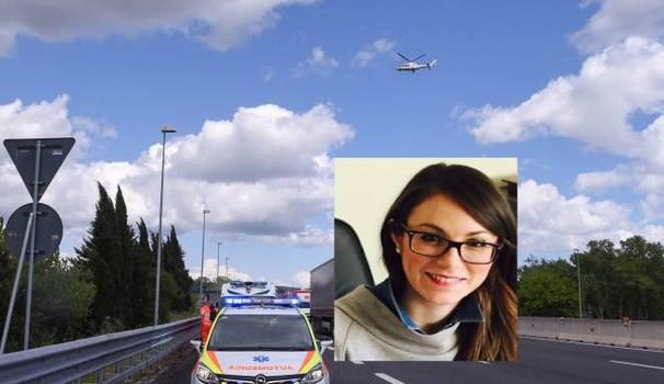 A14, aveva solo 31 anni è stata uccisa dalla gomma di un Tir, aspettava un bimbo da due mesi, illeso il marito