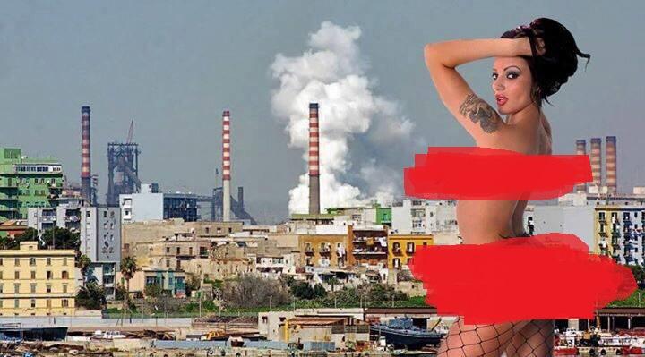 Puglia, Amandha Fox posa nuda sul lungomare contro Emiliano e vuole diventare sindaco