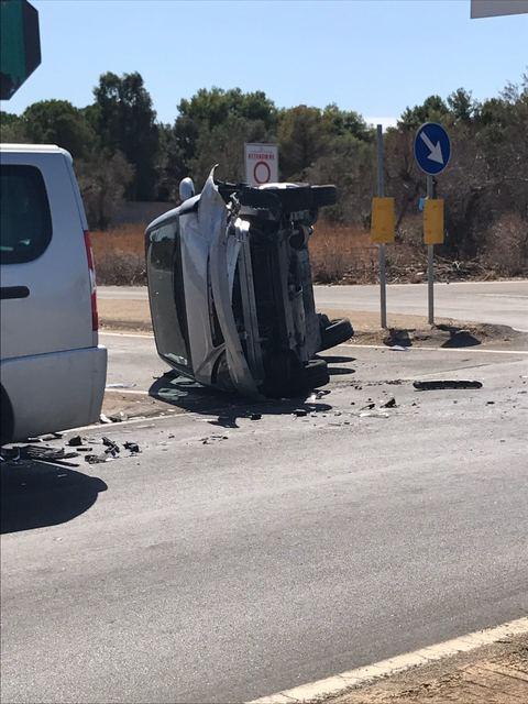 Puglia, sulla via del mare stesso incrocio terzo incidente in due mesi, mancato rispetto di un stop bilancio sei feriti