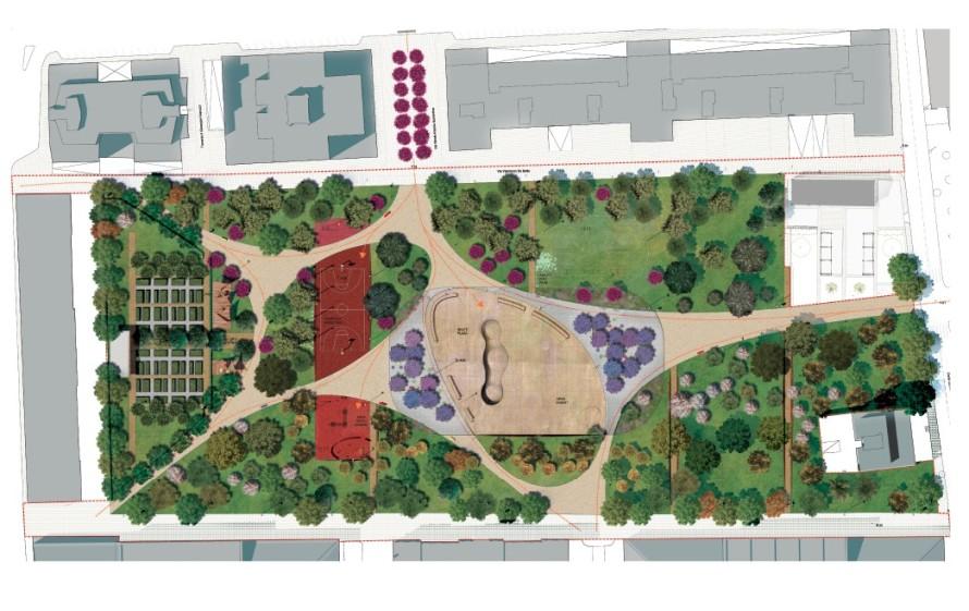 Parco di via Gargasole nella ex caserma Rossani, dieci le proposte