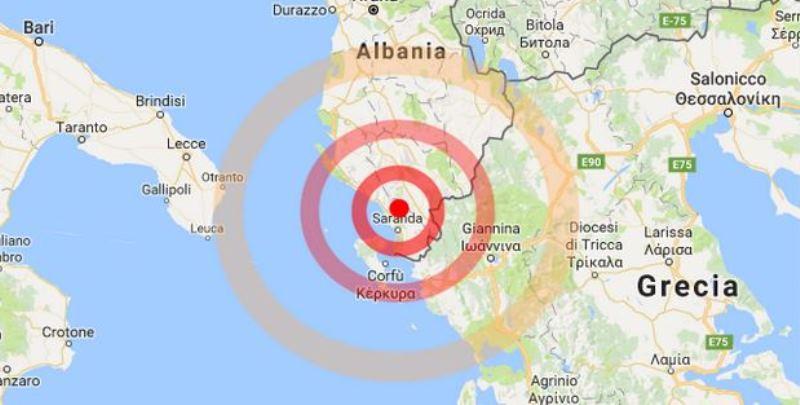 Terremoto ultime notizie, forte scossa in Albania avvertita in alcune zone della Puglia