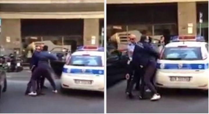Due vigili chiedono di spostare l'auto, il conducente scende dal mezzo e li manda in ospedale