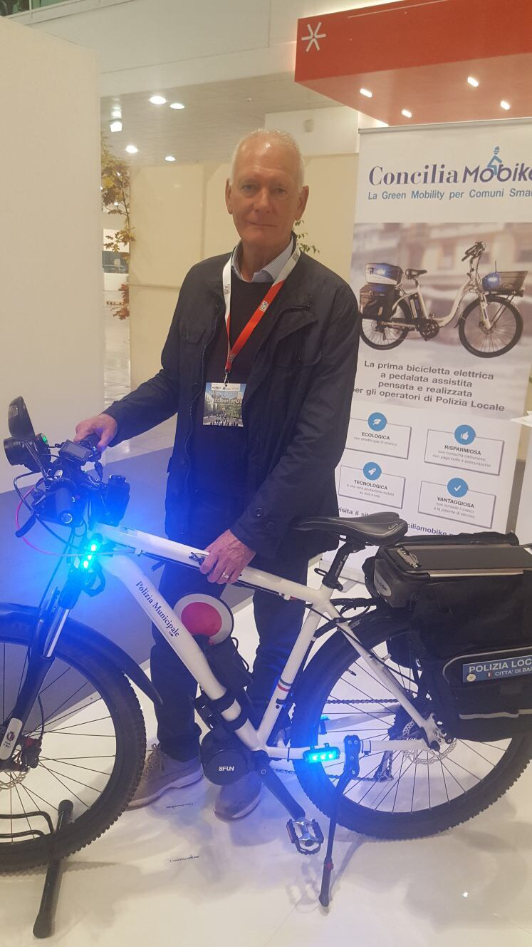 """Otto biciclette elettriche per gli agenti della Polizia Municipale, Marzulli: """"Saranno utilizzate per intervenire più velocemente nelle aree pedonali"""""""