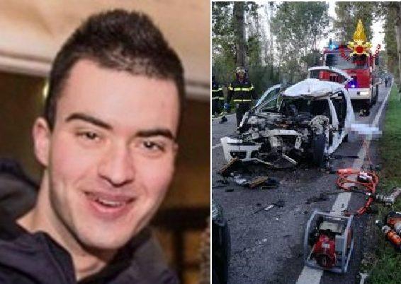 """Daniele, morto a 22 anni in un incidente mentre andava a lavoro: """"Era stato appena assunto"""""""