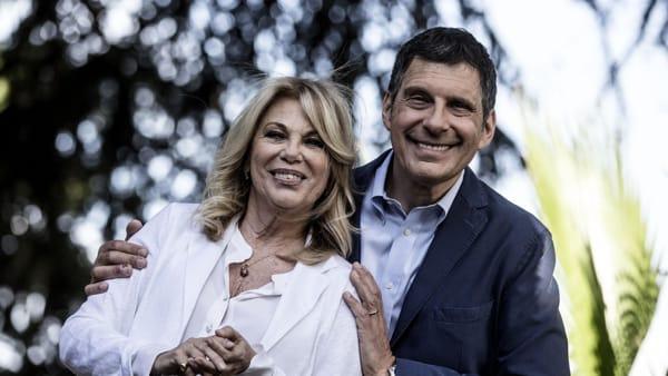 """Frizzi, Rita Dalla Chiesa: parla del suo ex """" la vita stessa di Fabrizio insegna solo sorrisi """""""